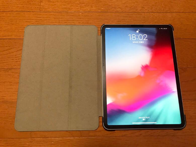 M&Y iPadケース - 開いた状態