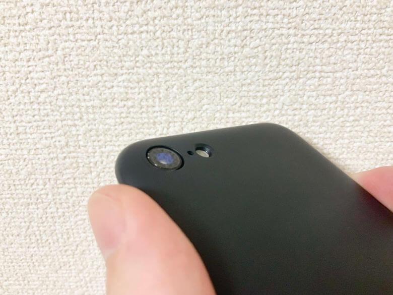 MYNUS iPhone Case - カメラ部分
